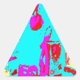 Clamp Brass I Triangle Sticker