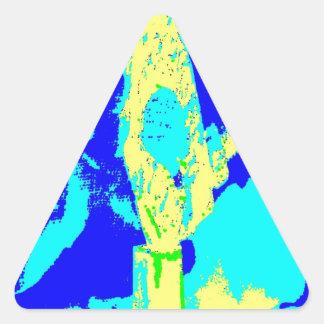 Clamp Brass P Triangle Sticker