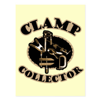 Clamp Collector Postcard