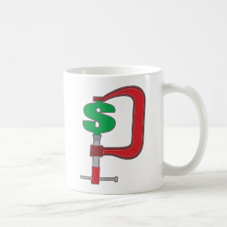 Clamp Down Dollar Coffee Mug