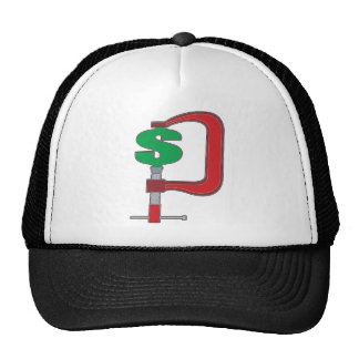 Clamp Down Dollar Trucker Hats