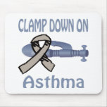 Clamp Down On Asthma Mousepad