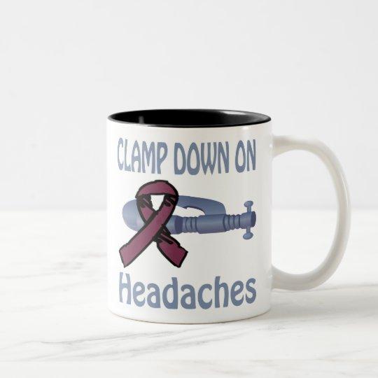Clamp Down On Headaches Mug