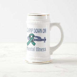 Clamp Down On Mental Illness Mug