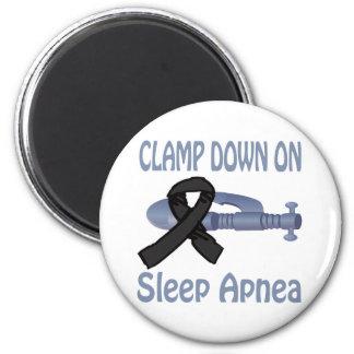 Clamp Down On Sleep Apnea Magnet