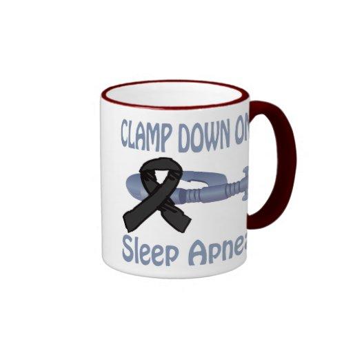 Clamp Down On Sleep Apnea Mug