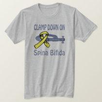 Clamp Down On Spina Bifida Shirt