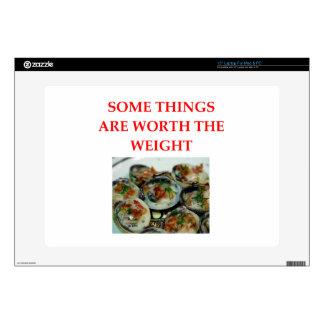 "clams 15"" laptop decal"