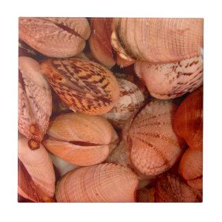 Clams! Ceramic Tile