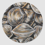 CLAMS CLASSIC ROUND STICKER