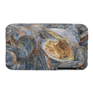 Clams Painting iPhone 3 Case-Mate Case