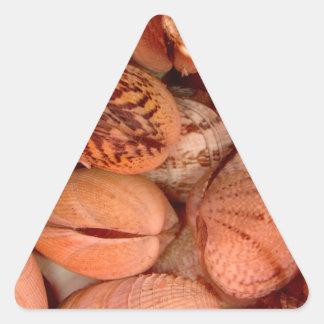 Clams! Triangle Sticker