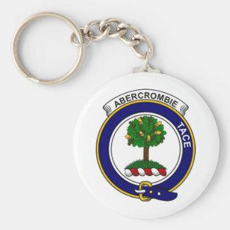 Clan Abercrombie Badge Basic Round Button Keychain