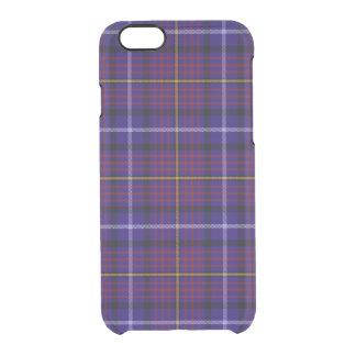 Clan Aberdale Tartan Clear iPhone 6/6S Case