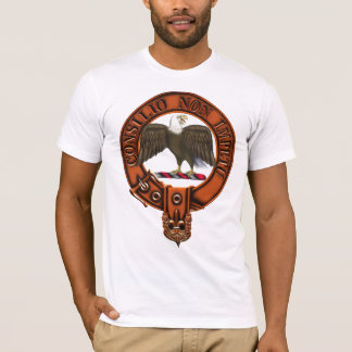 Clan Agnew Family Crest and Targe T-Shirt