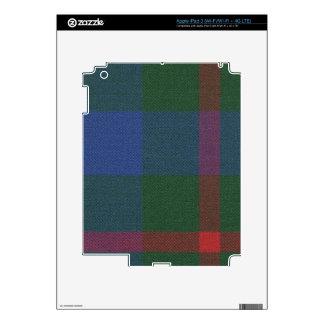 Clan Agnew Tartan iPad 3 Skin