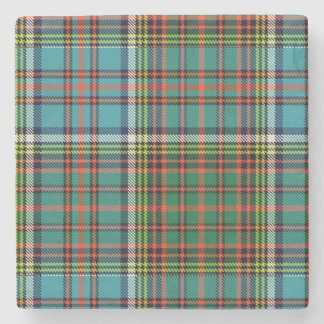 Clan Anderson Tartan Plaid Stone Coaster