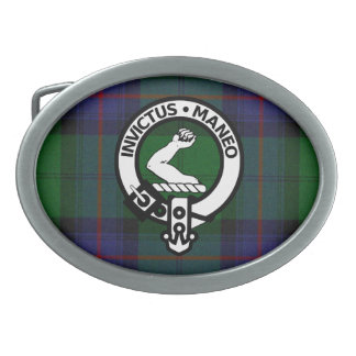 Clan Armstrong Crest Badge Tartan Buckle Belt Buckle