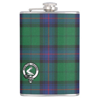 Clan Armstrong Hip Flask