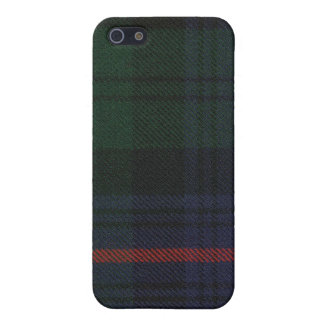 Clan Armstrong Tartan iPhone 4 Case