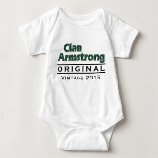 Clan Armstrong Vintage Customize Your Birthyear Baby Bodysuit