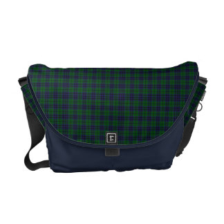 Clan Austin Tartan Plaid Messenger Bag