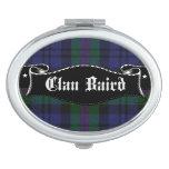 Clan Baird Tartan Compact Mirror