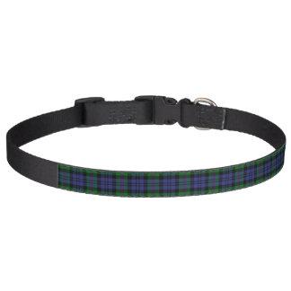 Clan Baird Tartan Pet Collar