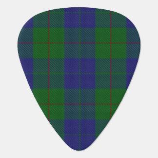 Clan Barclay Hunting Sounds of Scotland Tartan Guitar Pick