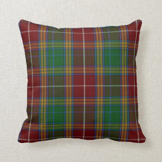 Clan Baxter Tartan Plaid Pillow