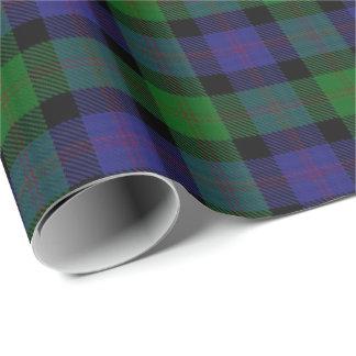 Clan Blair Scottish Tartan Wrapping Paper