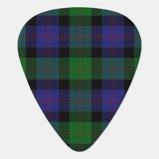 Clan Blair Sounds of Scotland Tartan Guitar Pick