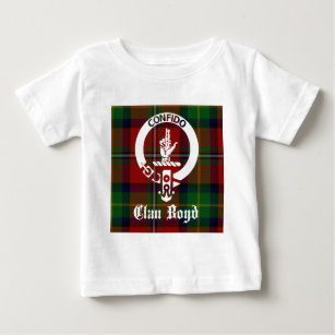 Surname family crest baby t shirts zazzle clan boyd crest tartan baby t shirt thecheapjerseys Gallery