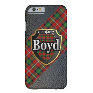 Clan Boyd Scottish Celebration Barely There iPhone 6 Case