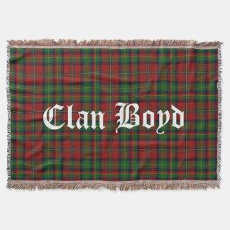 Clan Boyd Tartan Throw Blanket