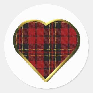 Clan Brodie Heart Envelope Seal