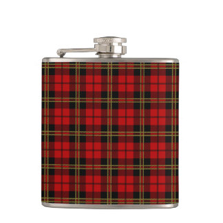 Clan Brodie Tartan Hip Flask