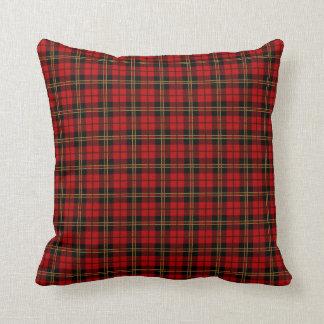 Clan Brodie Tartan Throw Pillow