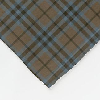 Clan Brown de Keith y tartán azul de la Manta De Forro Polar