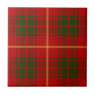 Clan Bruce Tartan Tile