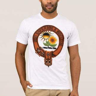 Clan Buchan Family Crest and Targe T-Shirt