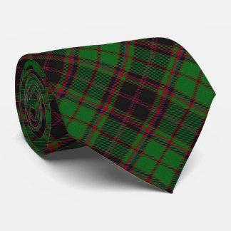 Clan Buchan Letter B Monogram Tartan Neck Tie