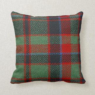 Clan Buchan Tartan Throw Pillow