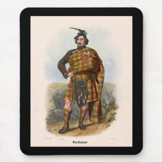 Clan Buchanan Mouse Pad