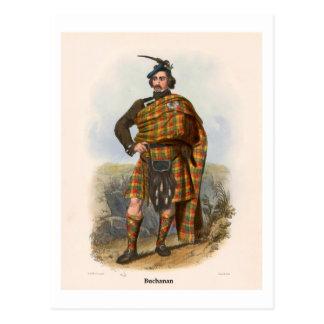 Clan Buchanan Postcard