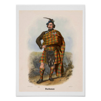 Clan Buchanan Poster