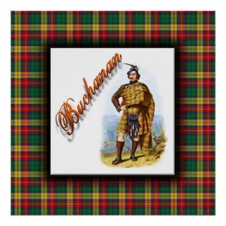 Clan Buchanan Scottish Dream Poster
