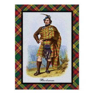 Clan Buchanan Scottish Dreams Poster