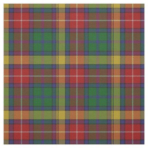 Clan Buchanan Scottish Tartan Plaid Fabric