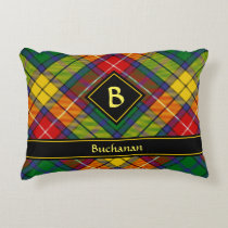 Clan Buchanan Tartan Accent Pillow